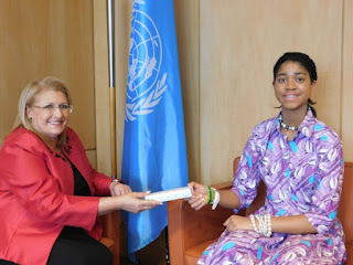 14 year old Nigerian filmmaker Zuriel Oduwole Honored at UNESCO Global Conference