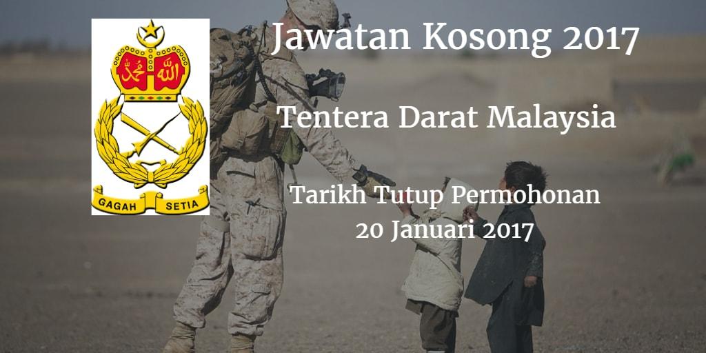 Jawatan Kosong TDM 20 Januari 2017