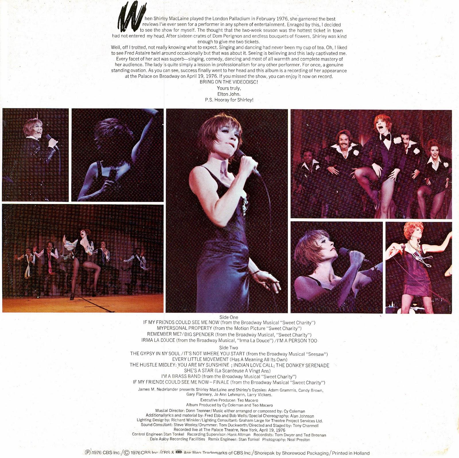 Shirley Maclaine The Apartment: Luigi's 50's & 60's Vinyl Corner: Shirley MacLaine.320 Kbps