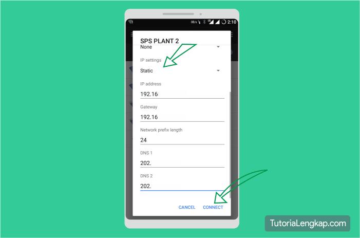 Tutorialengkap Cara Menggunakan dan Mengganti IP Manual pada android