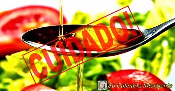 """Alimentos que não devem ser preparados com """"Azeite de Oliva"""" (Imagem: Reprodução/Internet)"""
