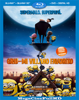 Mi Villano Favorito (2010) Full HD 1080P Latino