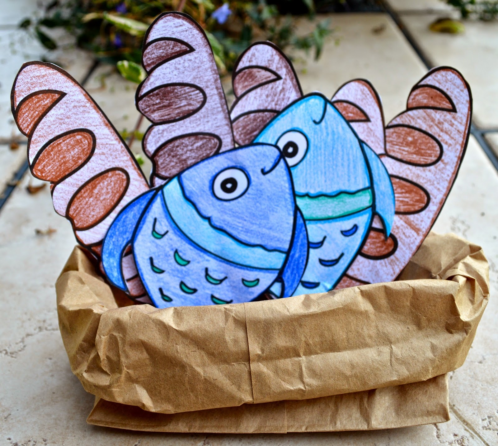 Loaves And Fishes Craft Ideas