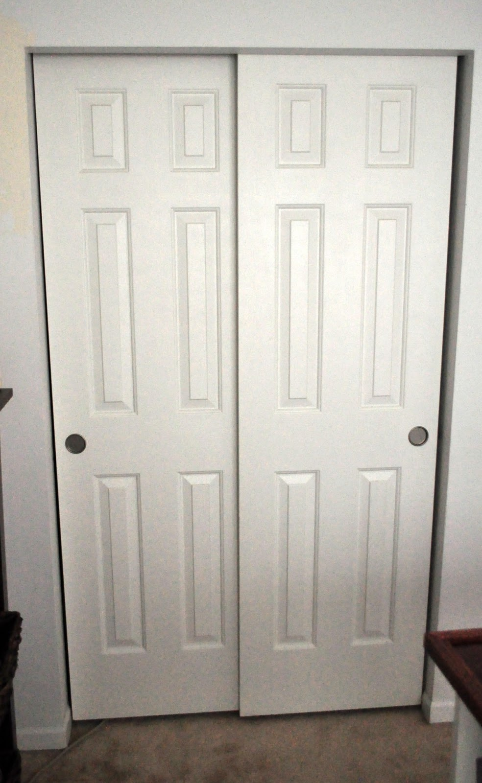 Updating Closet Doors