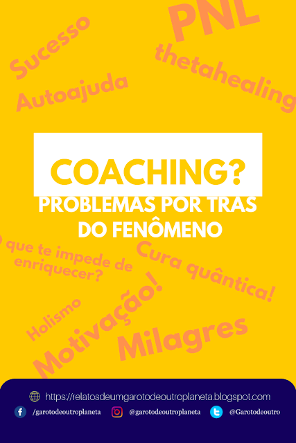 Coaching: promessas milagrosas enlatadas (Opinião)