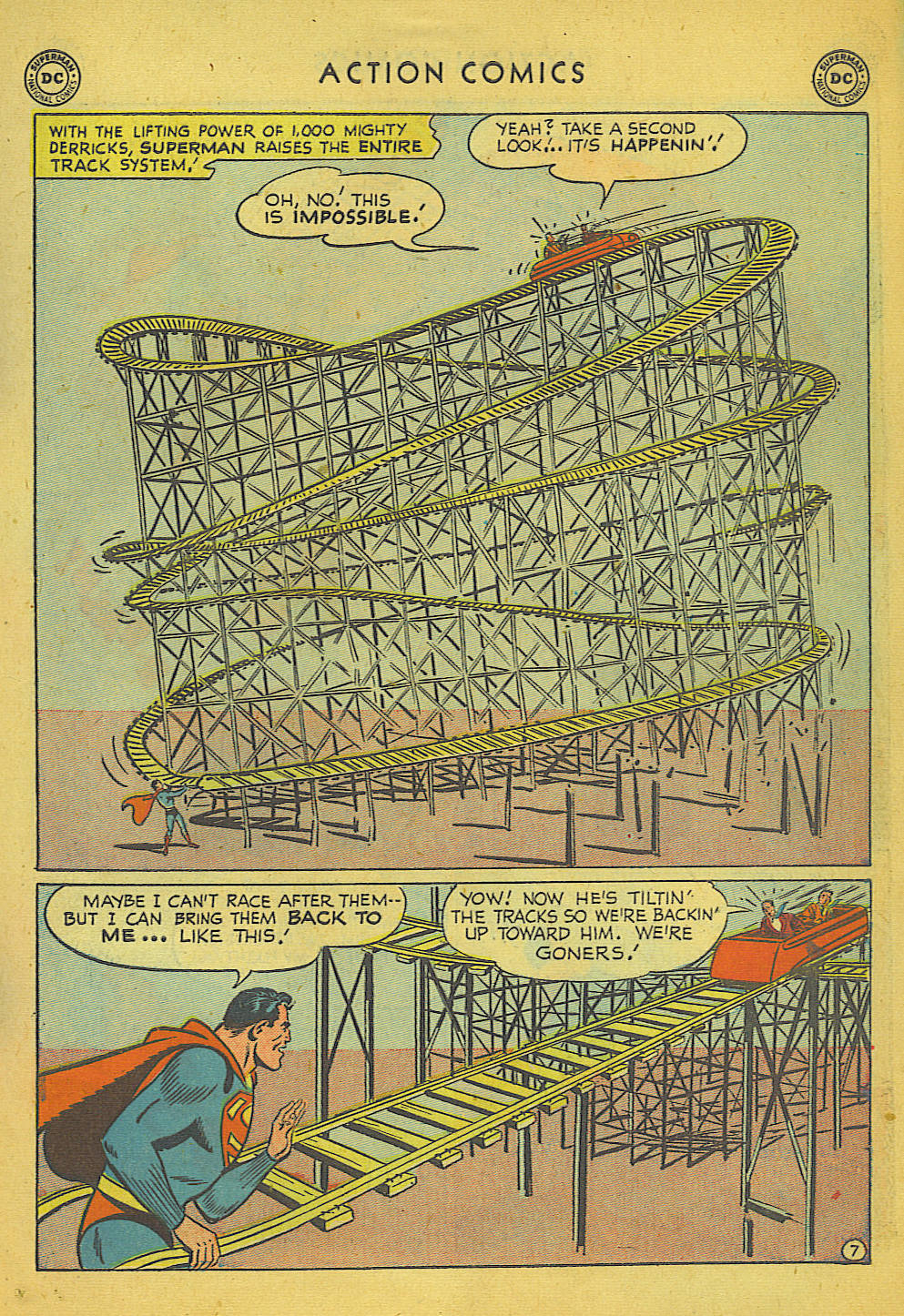 Read online Action Comics (1938) comic -  Issue #157 - 8