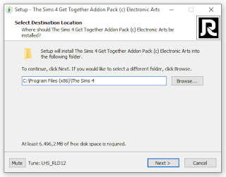 how to install sims 4 get together reloaded