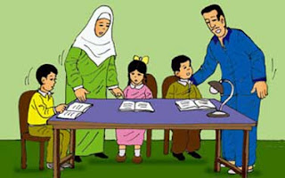 علاقة الطفل داخل الأسرة