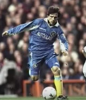 Gianfranco Zola scored 58 goals for Chelsea in the Premier League