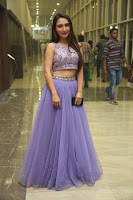 Actress Dhriti Pos in Purple Lehnga Lehenga Choli at Keshava Telugu Movie Audio Launch .COM 0008.jpg