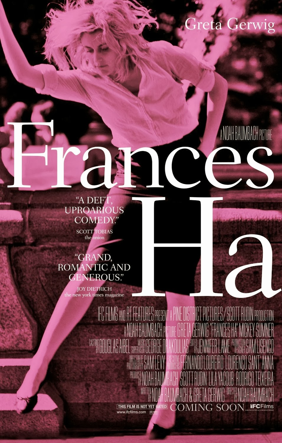 """ha 332b film reviews Who nowadays makes plush-looking feature films in black-and-white well,  noah baumbach does, and if you consider that his """"frances ha""""."""