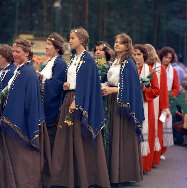 1970-е годы. Рига. Парк Праздников песни. Dziesmu svētki (Источник фото: F64)