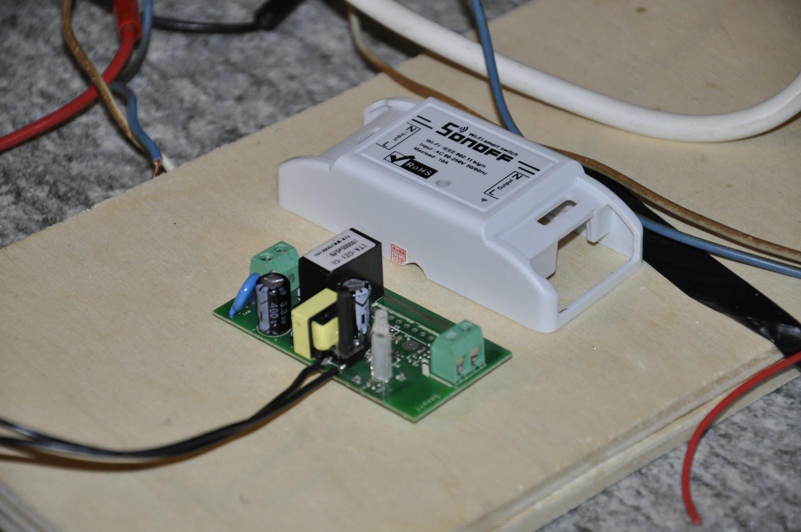 Domotica con arduino co home automation system sonoff e mqtt