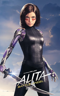Alita Battle Angel Rosa Salazar Movie Poster 5