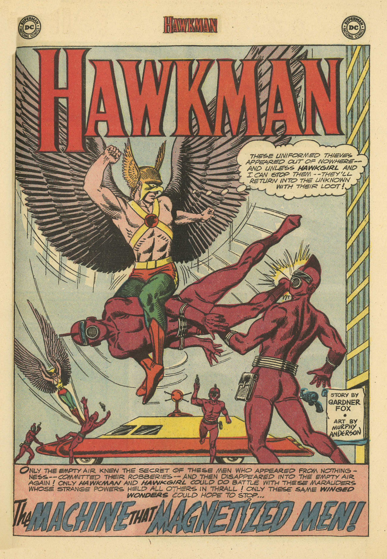 Hawkman (1964) issue 4 - Page 21
