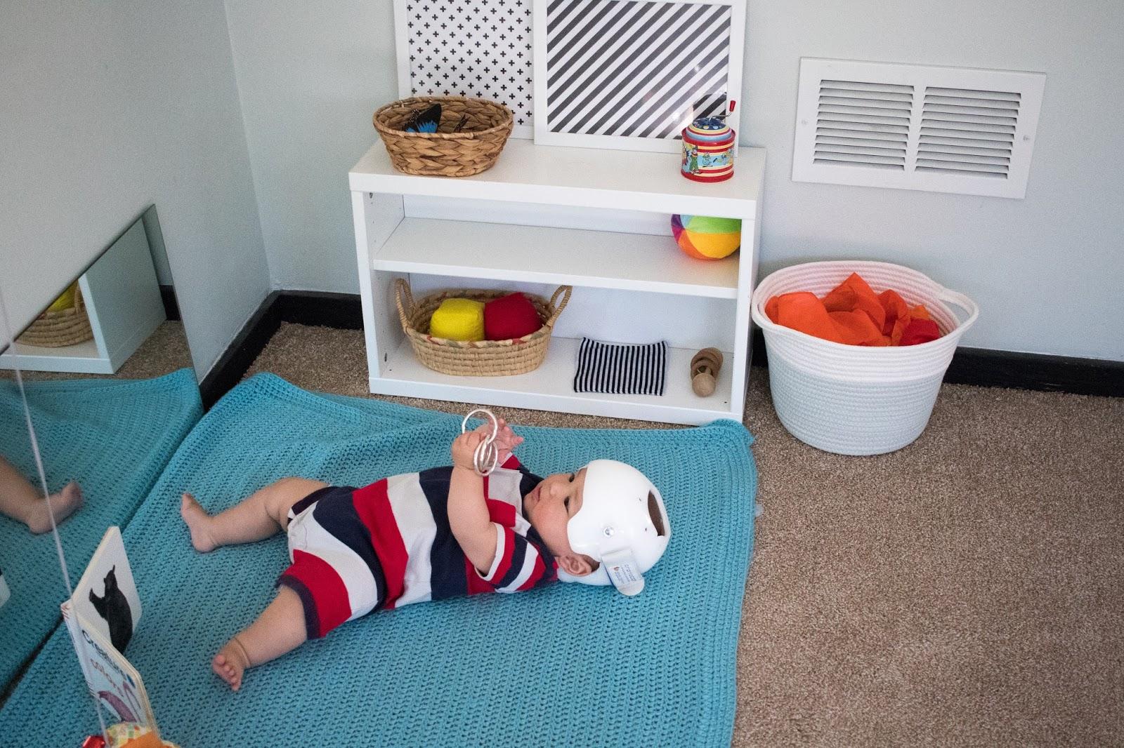 Using a Shelf -- Montessori Baby Week 26