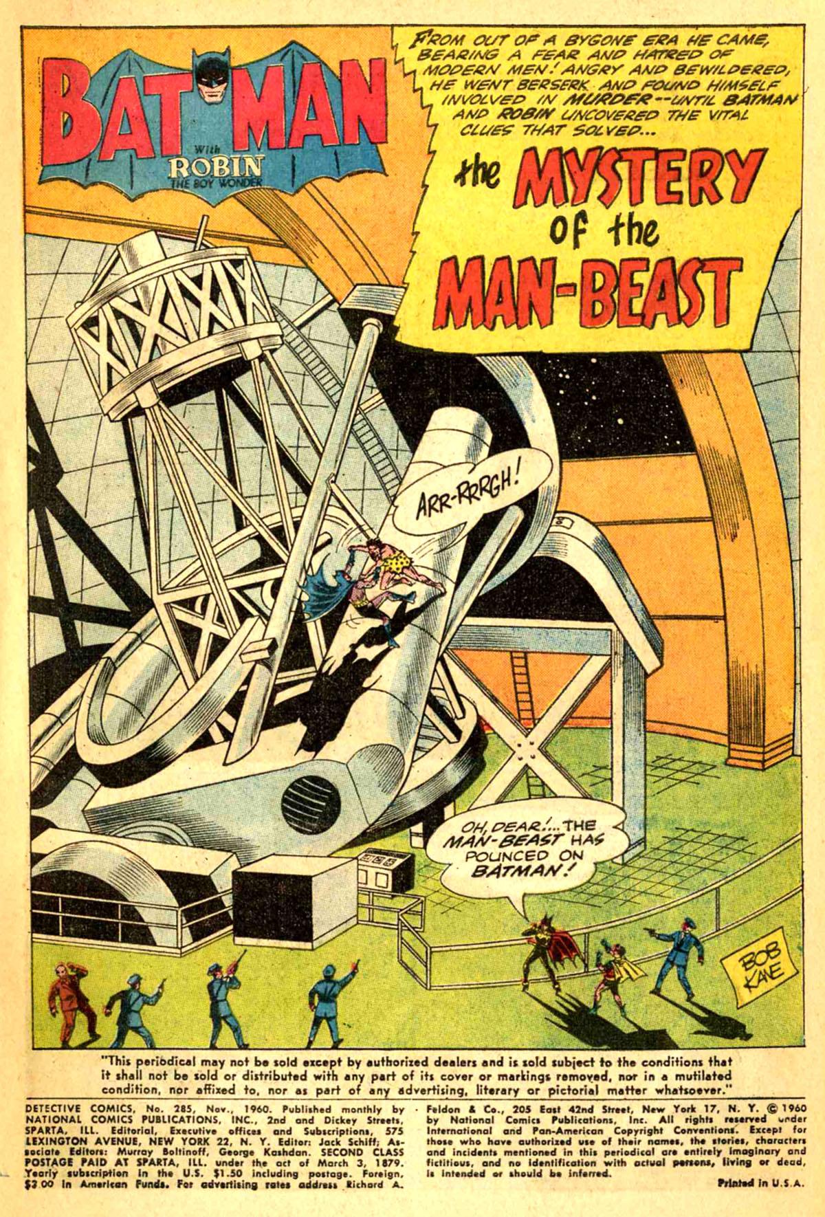 Detective Comics (1937) 285 Page 2