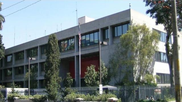 Embajada de EEUU en Guatemala cierra tras recibir una amenaza