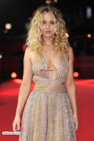 Jennifer Lawrence in a golde glittering gown at Red Sparrow Premiere in London ~  Exclusive Galleries 031.jpg