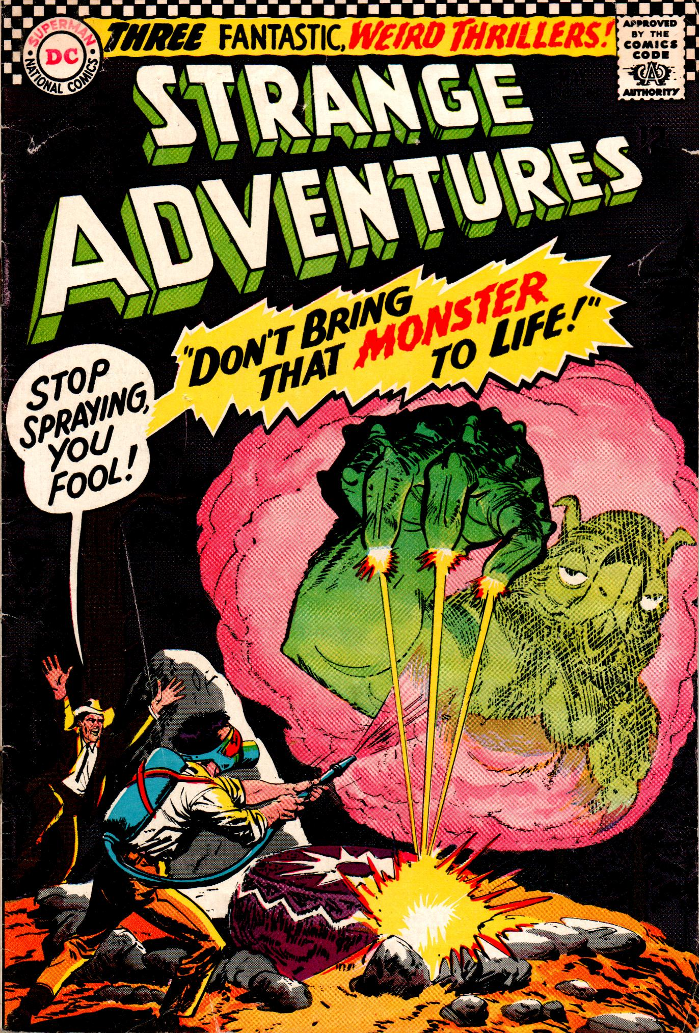 Strange Adventures (1950) issue 188 - Page 1