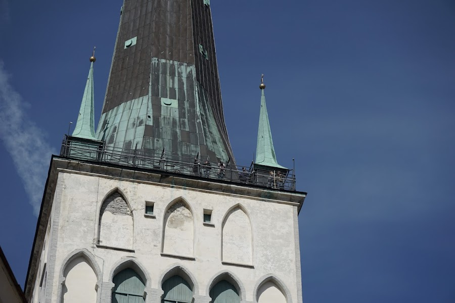 タリン|聖オレフ教会=オレヴィステ教会(Oleviste kirik)