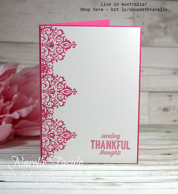 Need an elegant stamp set? Then look no further than the Flourish Filigree set. See more details here - http://bit.ly/FlourishFiligree