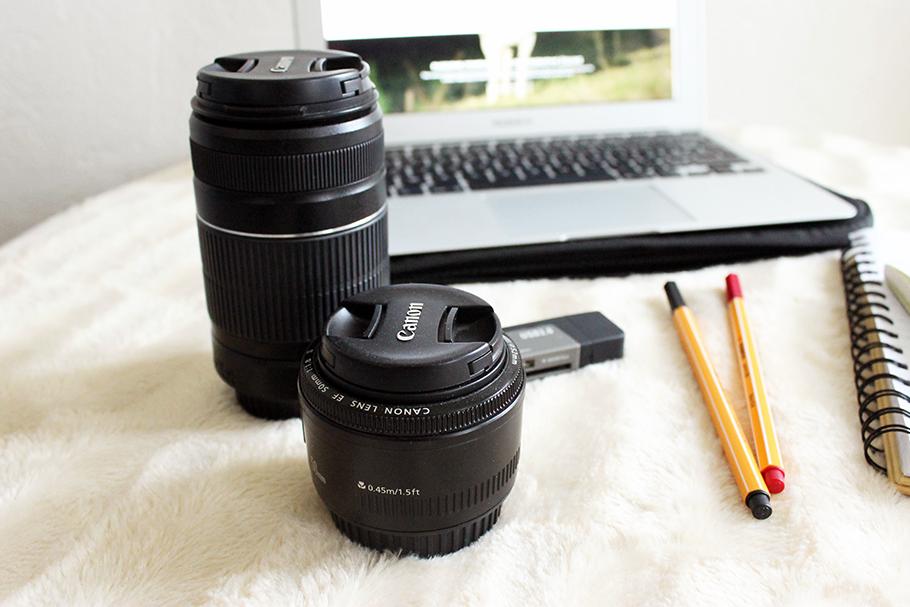 nécessaire pour bloguer