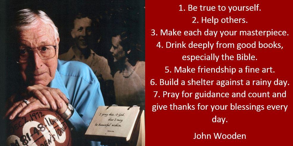 A Coachs Diary Who Was Joshua Hugh Wooden
