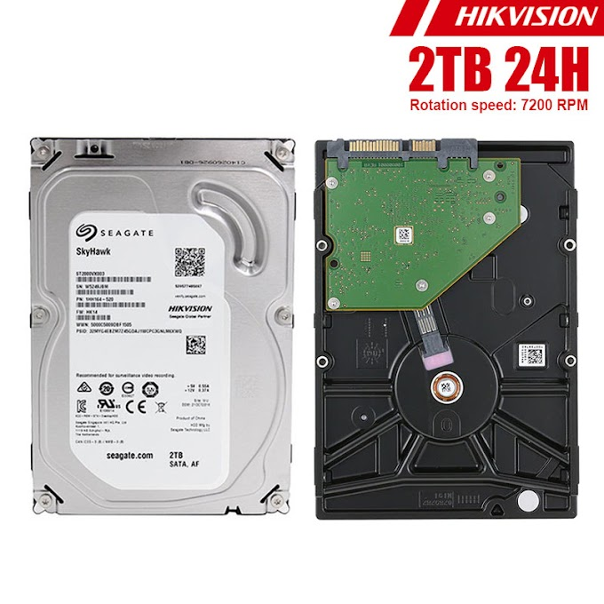"HDD 3.5"" 24H Seagate Hikvision 2TB"
