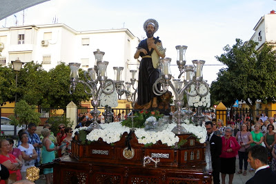 Horario e Itinerario Procesión de San Jerónimo. Sevilla 29/09/2018