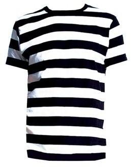 Little Black Cherry: Black and White Striped Men's Spooky ...