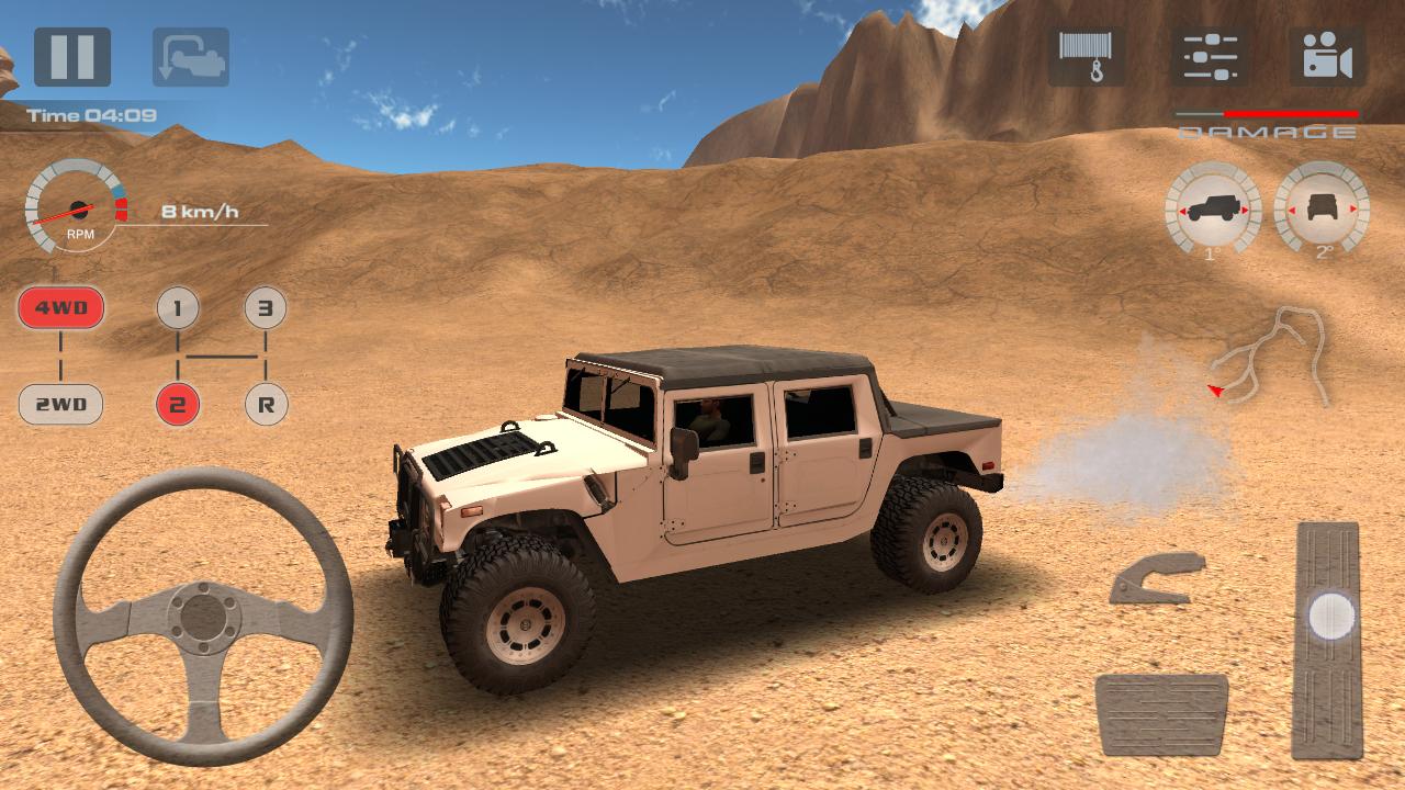 offroad drive desert apk download