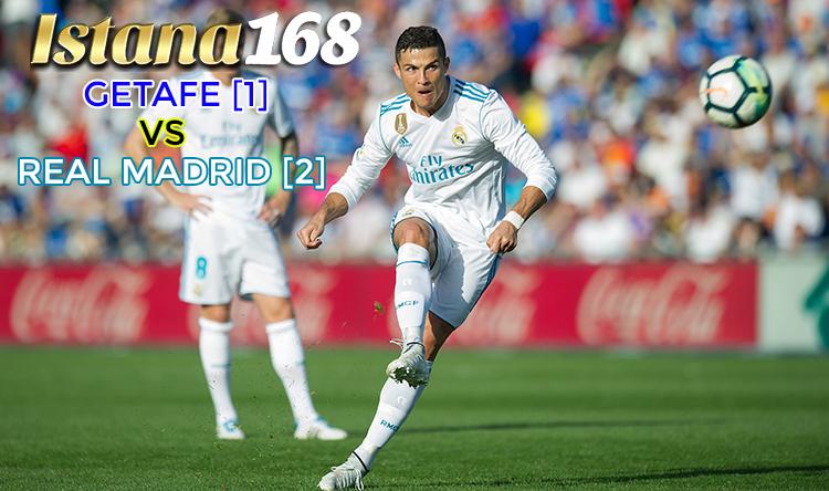 Prediksi Pertandingan Bola Getafe Vs Real Madrid 14: Laporan Pertandingan : Getafe [1] Vs Real Madrid [2