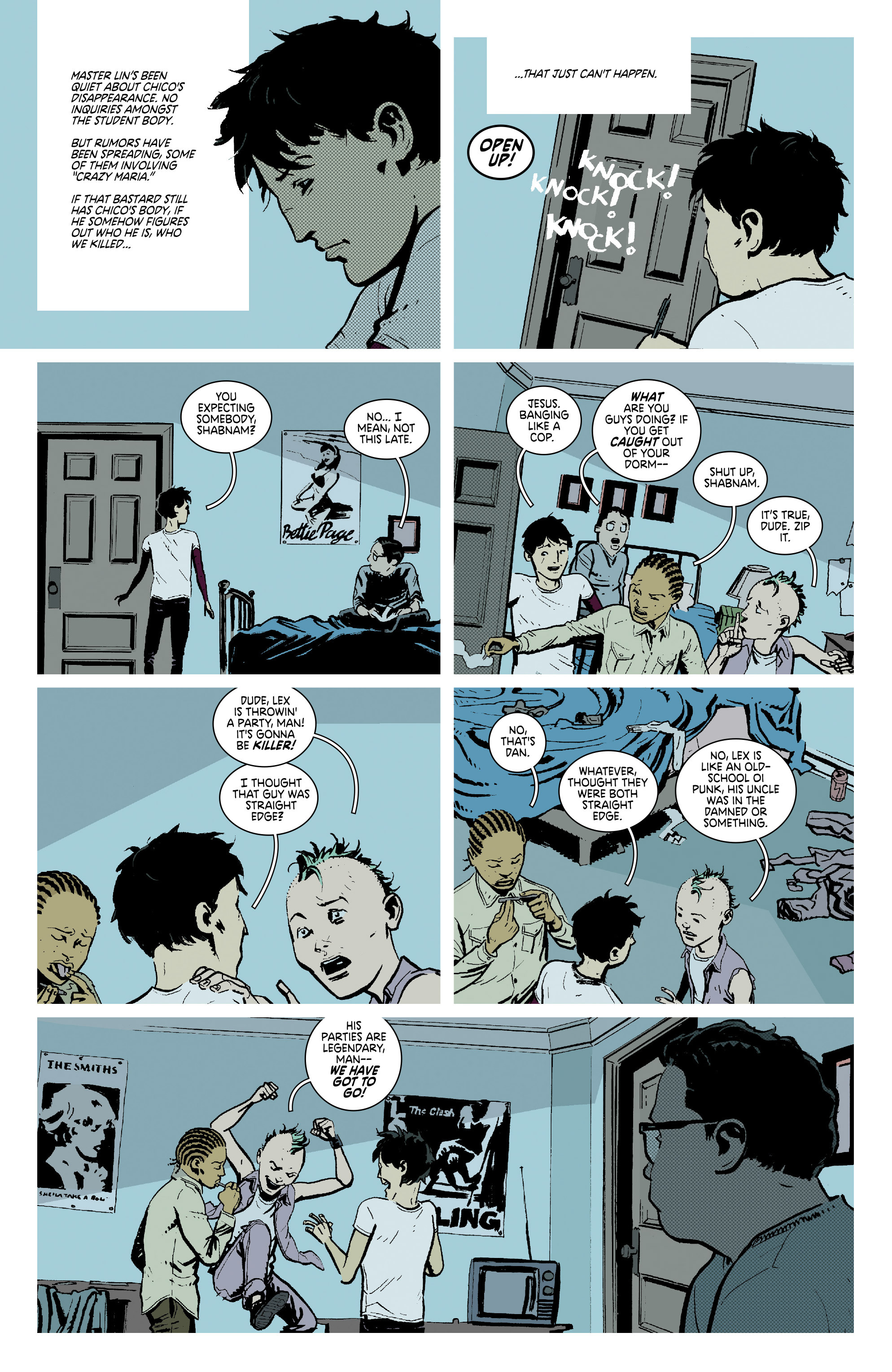 Read online Deadly Class comic -  Issue #7 - 11
