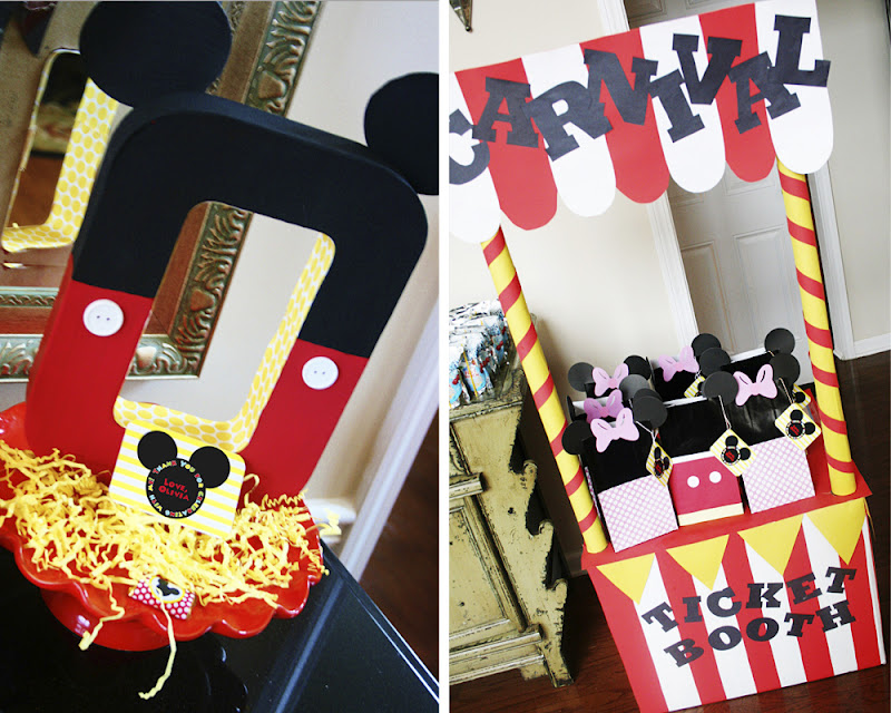 Mickey Mouse Birthday Party Ideas: Amanda's Parties To Go: Mickey Mouse Disney Carnival Party