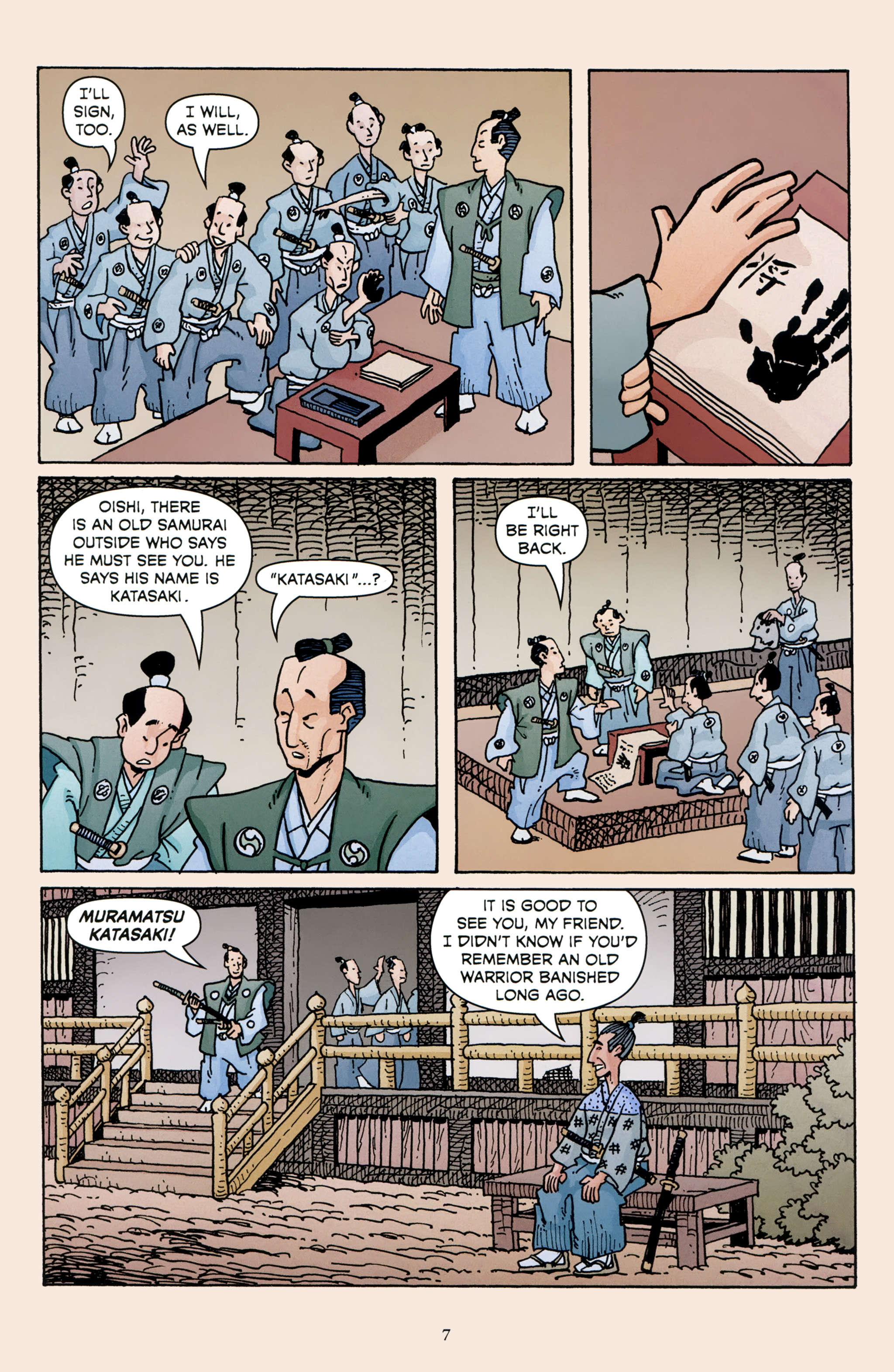 Read online 47 Ronin comic -  Issue #3 - 9