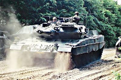 Tank Leopard belanda