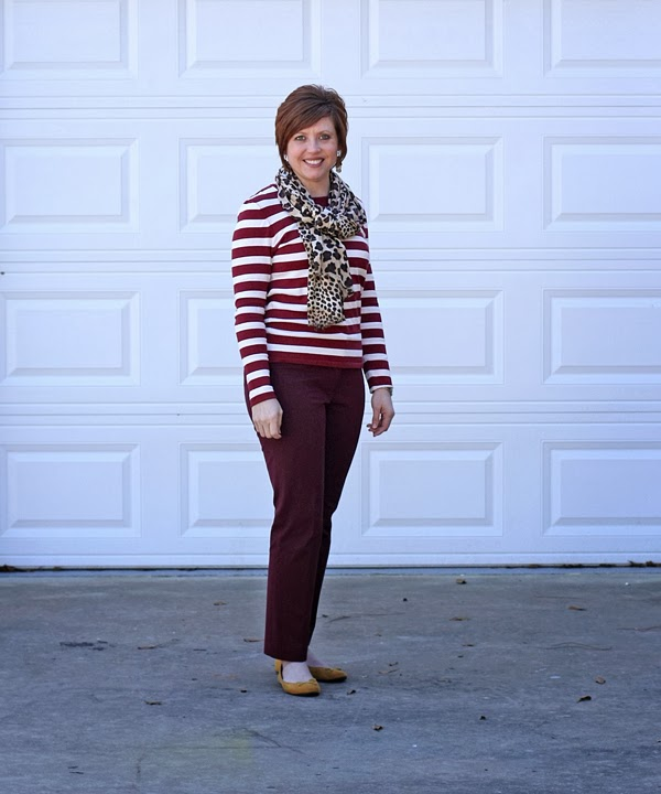 leopard and stripes outfit, leopard scarf outfit, animal print, fall outfit