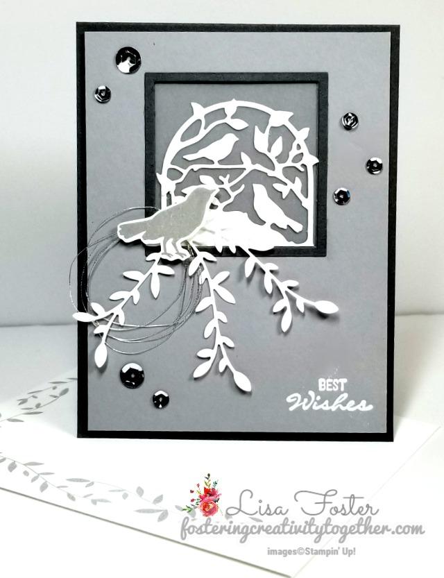 Botanical Bliss, Botanical Tags Dies, Wedding Card, Stampin' Up!