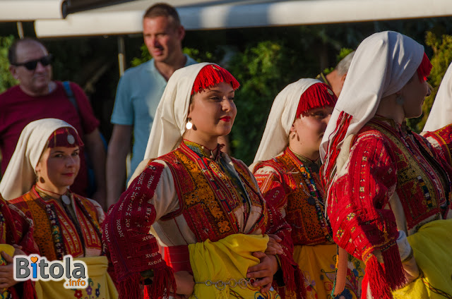 Ilinden Days Ceremony on Shirok Sokak street in Bitola, Macedonia - 27.07.2019