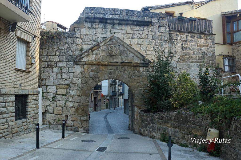 Puerta de San Nicolás o de Castilla, Estella, Navarra