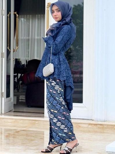 45 Model Baju Brokat Kombinasi Batik Modern 2019 Model Baju Muslim