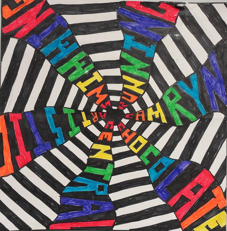 SINKING SPRINGS ART: Art and Math - Sixth Grade Radial ...
