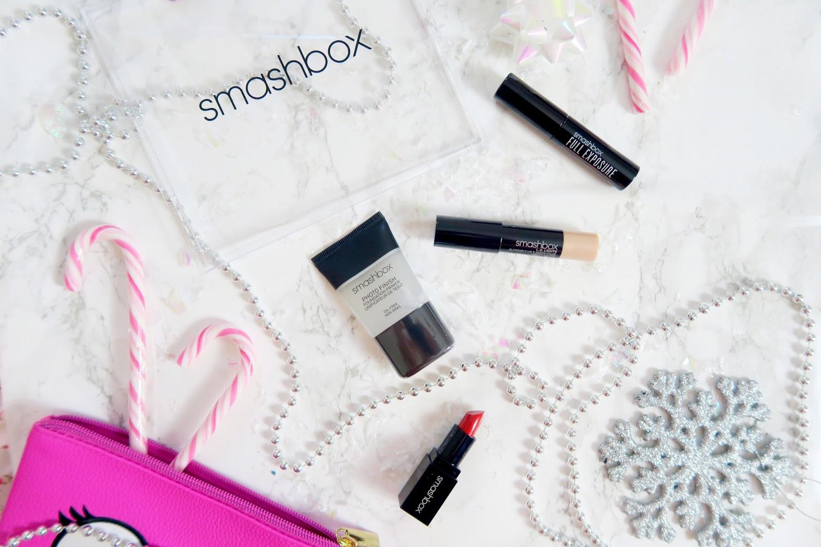 an image of Smashbox Light It Up: Face. Eyes. Lips. Christmas set