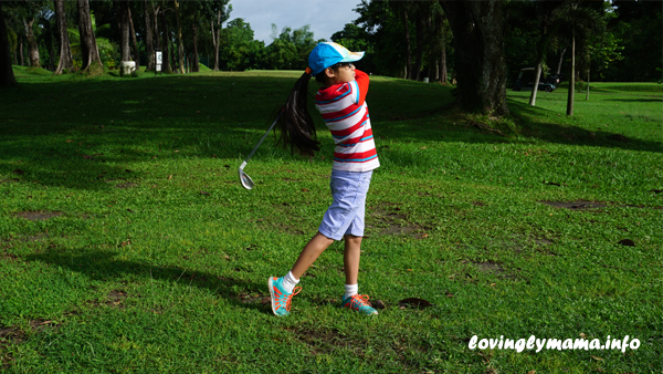golf and family fitness - fitness in kids