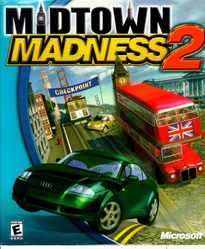 MIDTOWN MADNESS 2 Cover Photo