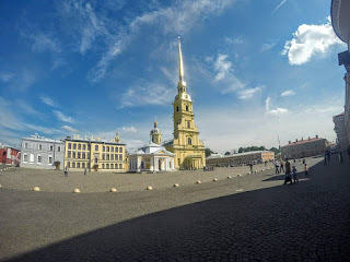 Russie Saint Petersbourg Forteresse de Peter et Paul
