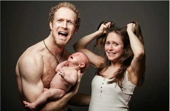 Padre y Madre jalandose el cabello