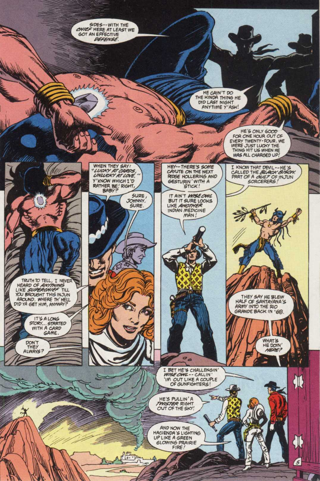 Swamp Thing (1982) Issue #85 #93 - English 6