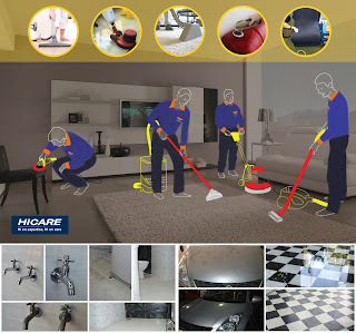 Hicare: Intensive home cleaning by certified professionals